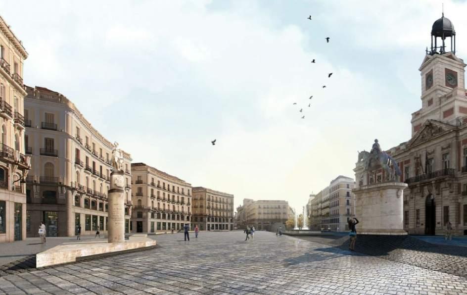 Un proyecto de corte minimalista gana el concurso para for Que es la puerta del sol en madrid