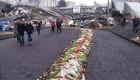 Ver v�deo Las flores cubren la plaza de Kiev