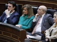 Los ministros prestan atención