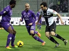 Borja Valero, con la Fiorentina