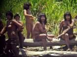 Mashco-Piros, en la Reserva Nahua-Nanti de la Amazonía peruana.