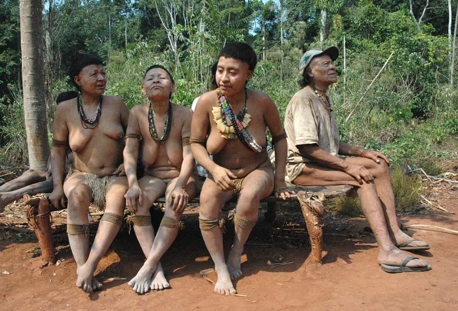 Resultado de imagen para habitantes primitivos del brasil