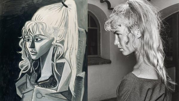 'Sylvette, 3. Mai 1954' - 'Picassos Modell Sylvette David', 1954