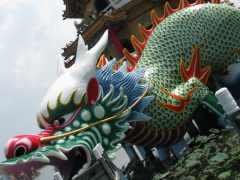 Pagoda en Kaohsiung,Taiwán