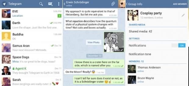 Telegram: una alternativa gratuita a WhatsApp con ventajas y algún punto oscuro