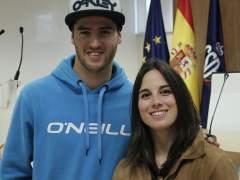 El vasco Lucas Eguibar y la catalana Queralt Castellet