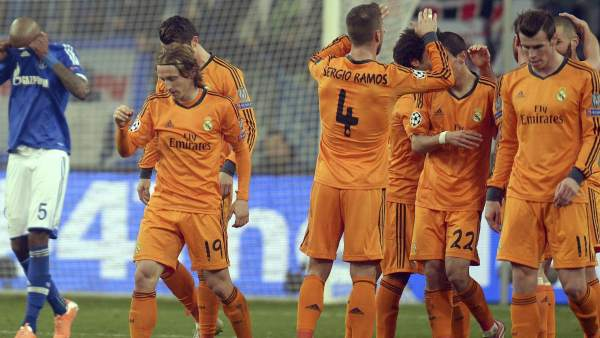 Gol del Real Madrid al Schalke