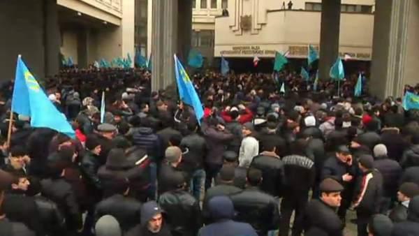Tensión en Crimea