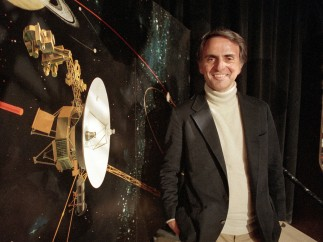 El profesor Sagan.