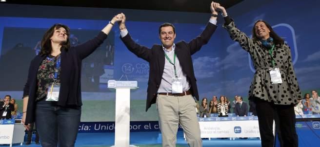 Juan Manuel Moreno, nuevo líder del PP andaluz.