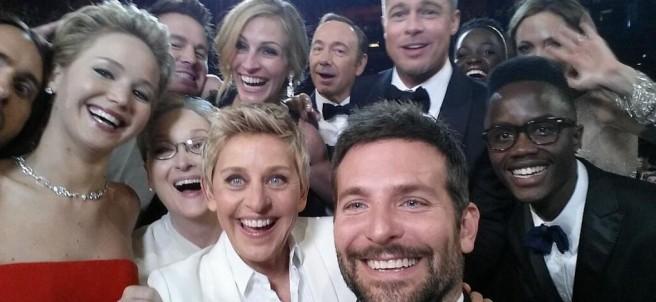 'Selfie' en los Oscar
