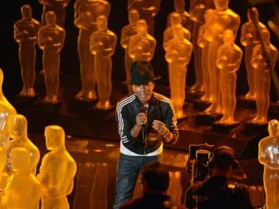 El músico Pharrell Williams.