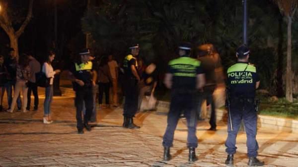 Policía en botellón