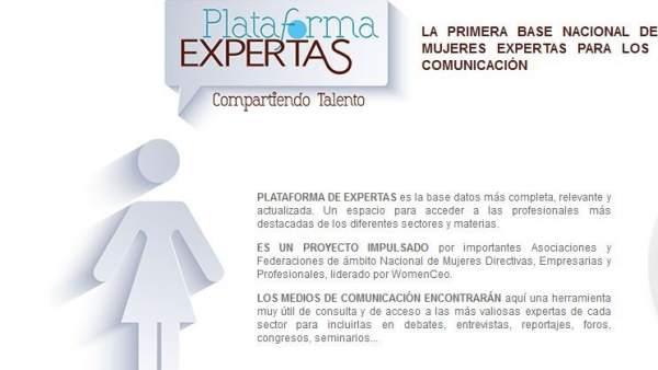 Plataforma de Expertas