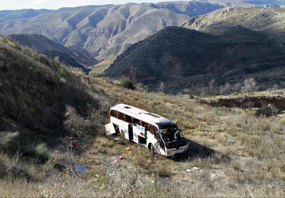 Accidente de autobús escolar en Valencia