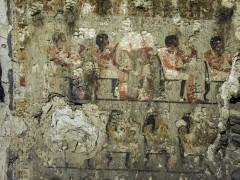 Pieza arqueológica egipcia.