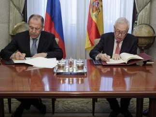 Margallo y Lavrov