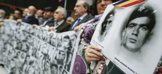 Víctimas del franquismo piden justicia en Bruselas