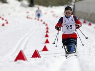 Entrenamientos para los Juegos Paralímpicos de Invierno de Sochi