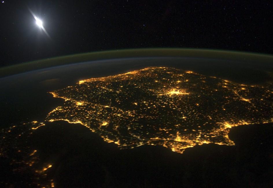 España, desde el espacio