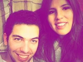 Chabelita con su novio Alberto Isla