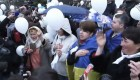 Ver v�deo Miles de t�rtaros se manifiestan en Crimea