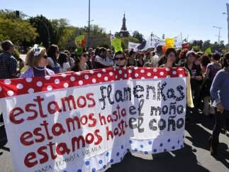 Protesta en Sevilla