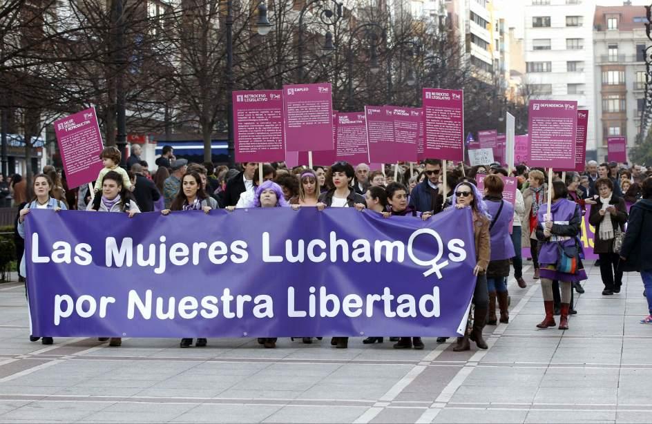 Manifestación en Gijón