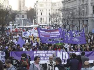 Día de la Mujer, en Madrid
