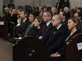 Funeral por las víctimas