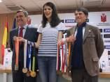 Ruth Beitia y sus diez medallas internacionales