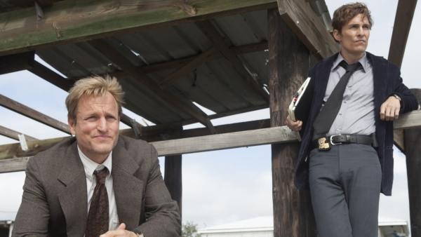 Matthew McConaughey y Woody Harrelson en la serie True Detective