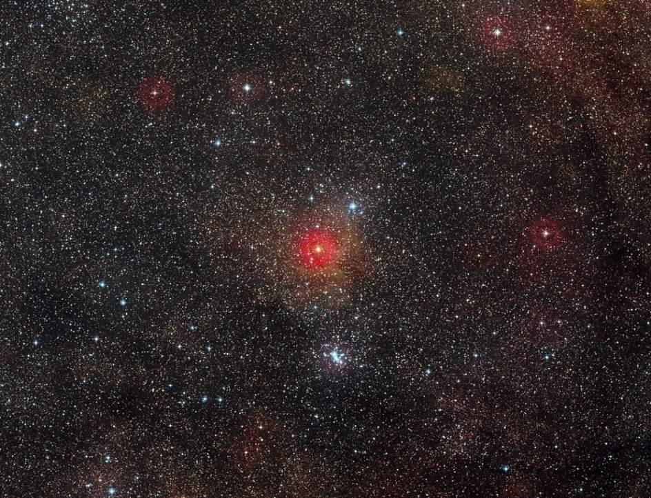 Una de las estrella más grandes jamás vista