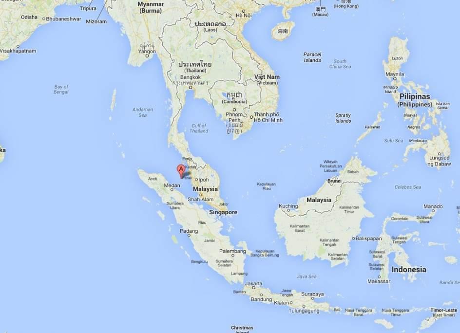 La fuerza a rea malasia detect el s bado una se al que for Marmol donde se encuentra