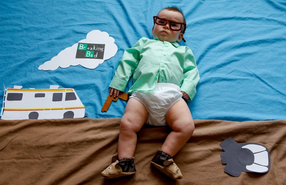 Un bebé 'versiona' las series de más éxito