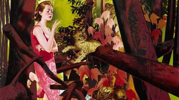'Mädchen im Wald', 2014