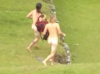 Desnudos en Machu Picchu