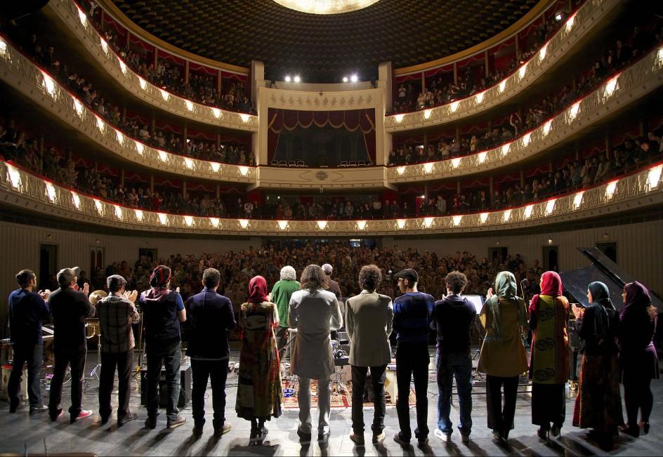 La revolución en Irán empieza en el teatro