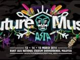 Cartel del festival Future Music Asia