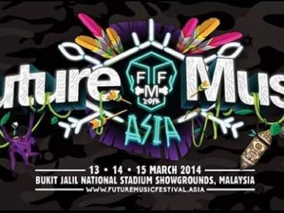 Cartel del festival Future Music Asia