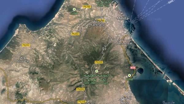 Melilla y el monte Gurugú