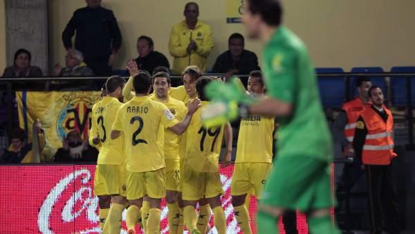 Gol del Villarreal al Athletic