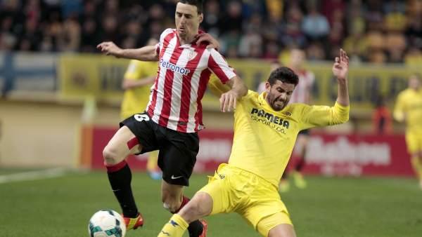 Aduriz y Musacchio en el Villarreal - Athletic
