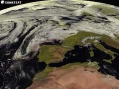 Imagen tomada por el sat�lite Meteosat para la Agencia Estatal de Meteorolog�a.