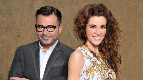 Raquel Sánchez Silva y Jorge Javier Vázquez en Supervivientes