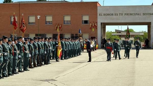 Entrada del Colegio de Guardias Jóvenes Duque de Ahumada en Valdemoro