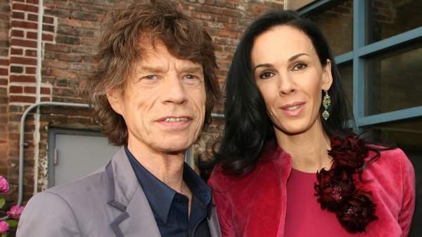 Mick Jagger y L'Wren Scott
