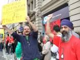 Protesta en Endesa