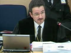El fiscal Carlos Bautista
