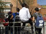 Adolescentes en un instituto